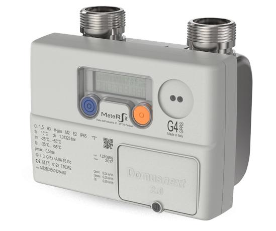 contatore gas samgas batteria